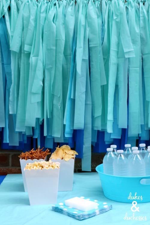 easy party backdrop ideas