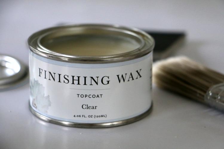 jolie finishing wax clear topcoat