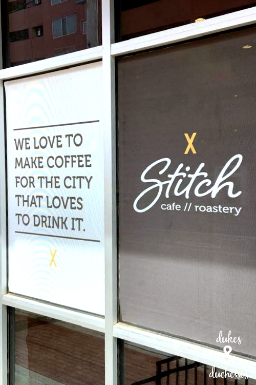 stitch cafe and roastery in OKC