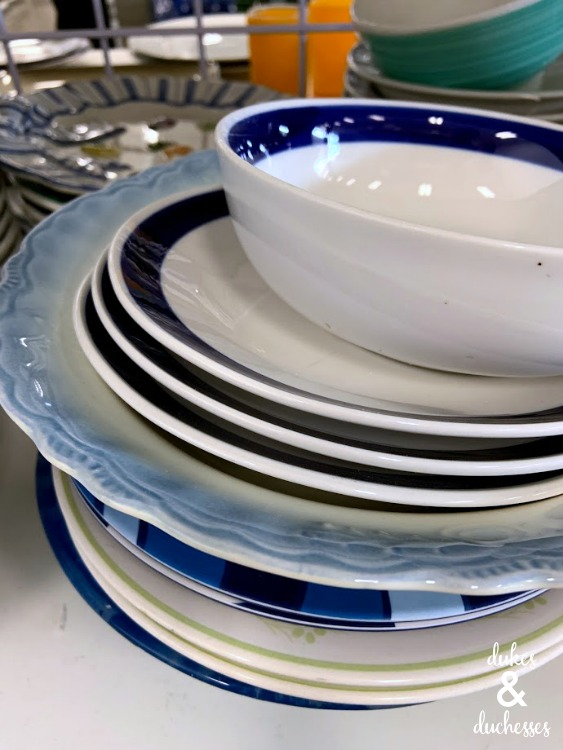 what to do with old dishes