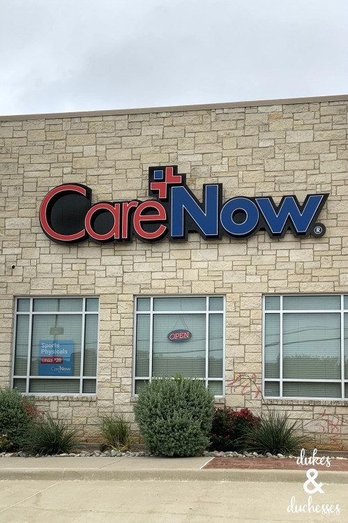 care now urgent care flower mound