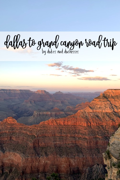 dallas to grand canyon road trip