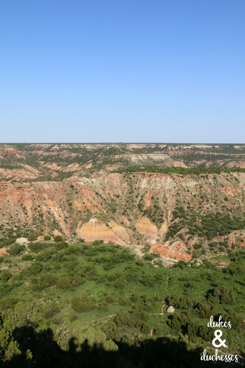 palo duro canyon road trip