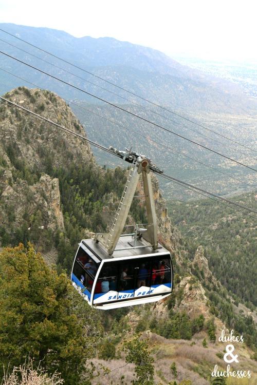 sandia peak tramway in albuquerque nm