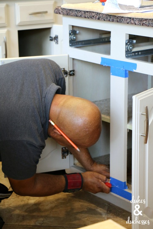 cabinet stile removal