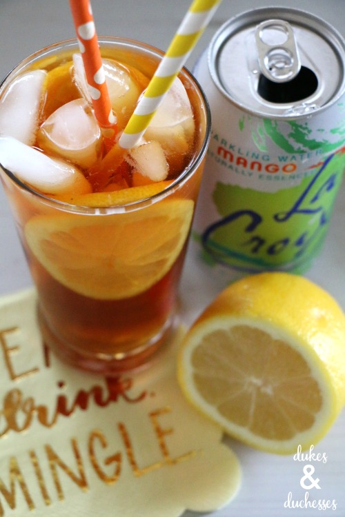 easy sparkling tea recipe with la croix