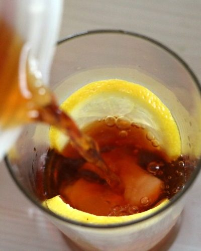 how to make sparkling tea recipe