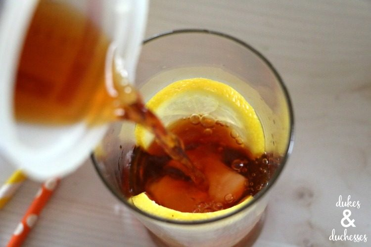 how to make sparkling tea recipe