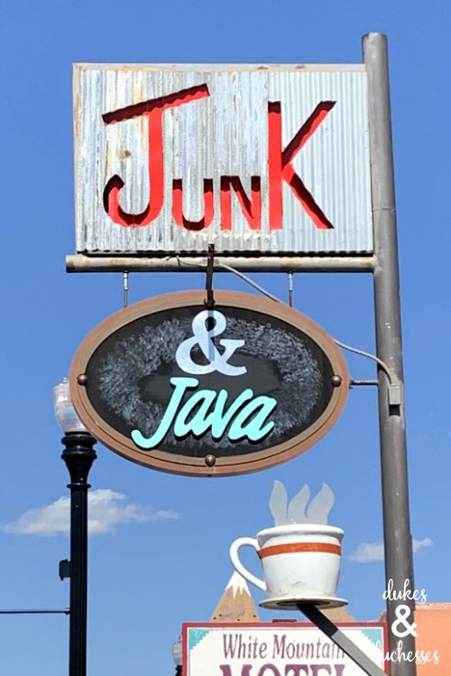 junk and java springerville az