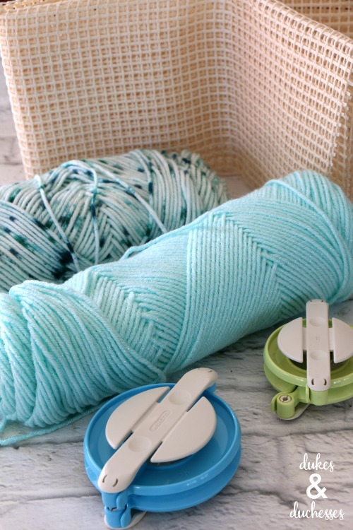 pom pom rug supplies