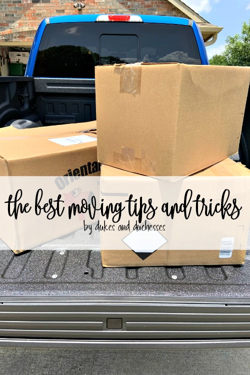 the best moving tips and tricks