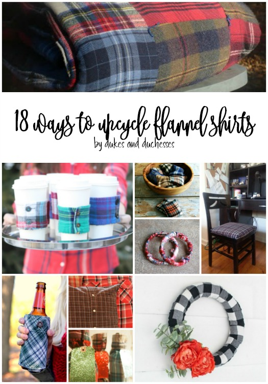 18 ways to upcycle flannel shirts