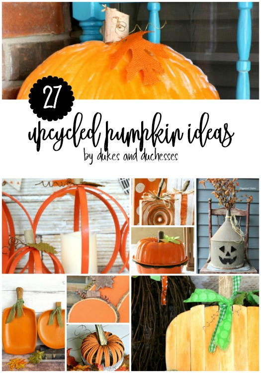 27 upcycled pumpkin ideas