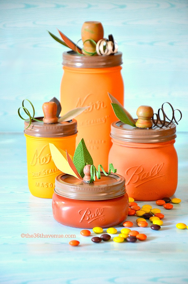 Pumpkin Jar Tutorial at the36thavenue com