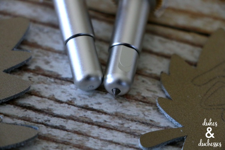 engraving tool and debossing tool from cricut