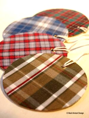 flannel shirt gift tags
