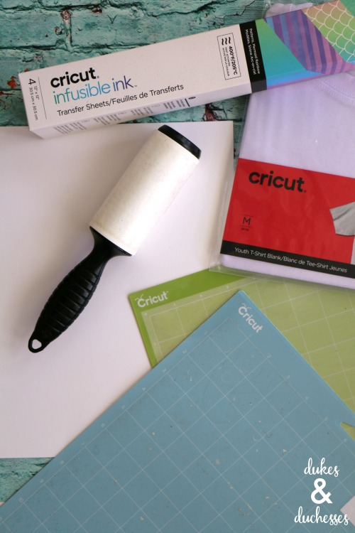 how to use new cricut infusible ink