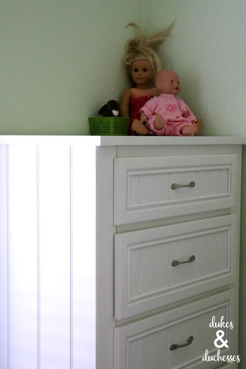 kids cottage chest for girls room
