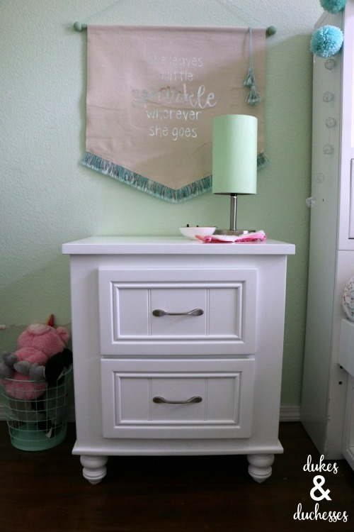 kids cottage nightstand