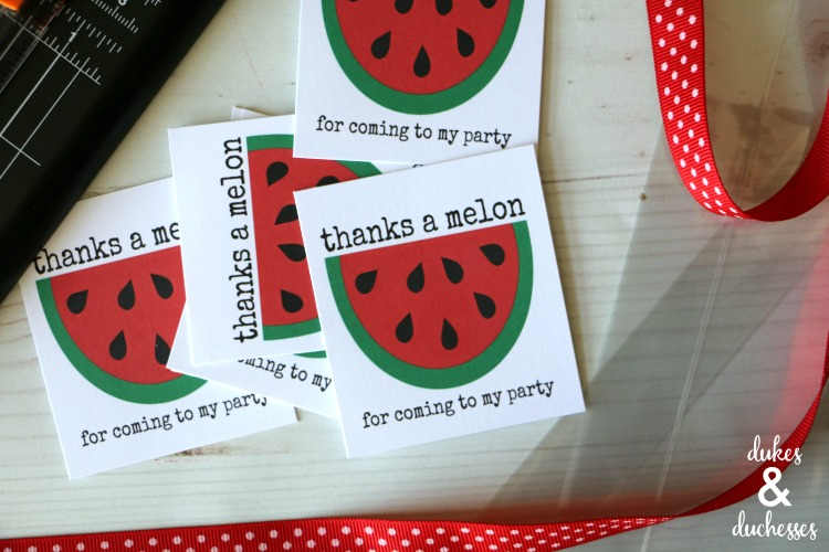 thanks a melon printable tags