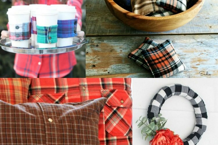 upcycled flannel shirt ideas