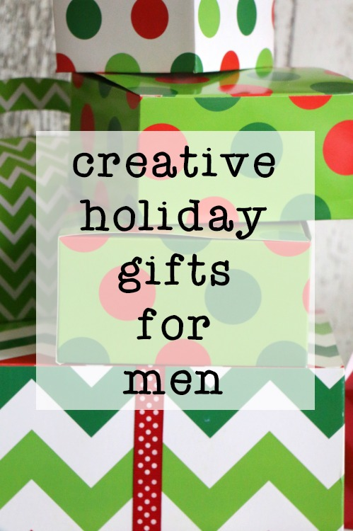 creative holiday gifts for men