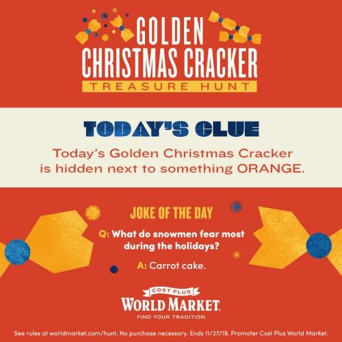 golden cracker clue