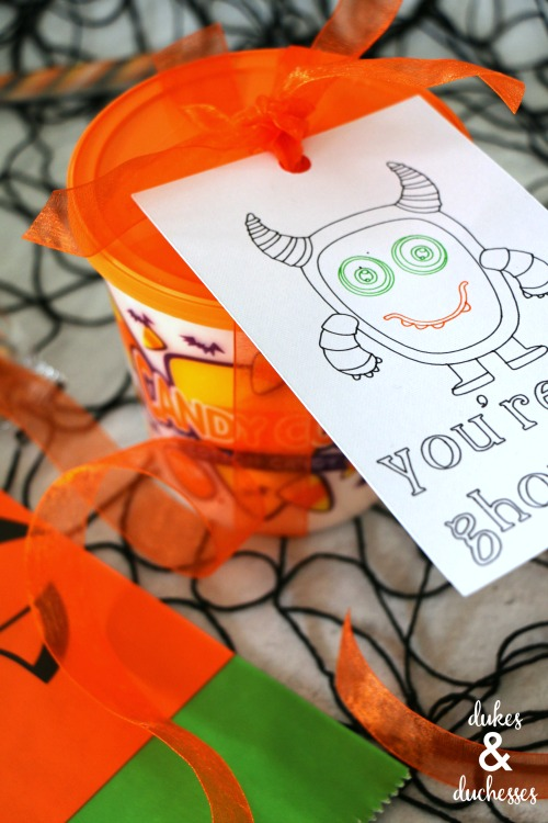 halloween gift tag ideas