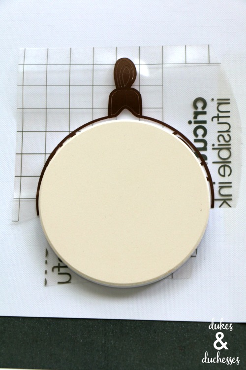 how to use cricut infusible ink with ceramic coaster blanks