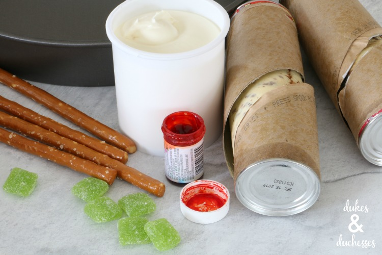 ingredients for pumpkin pull apart cinnamon rolls