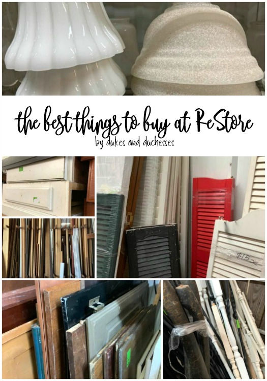 the best things to buy at restore