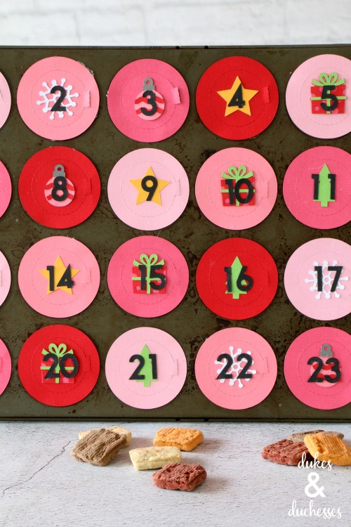 DIY pet advent calendar