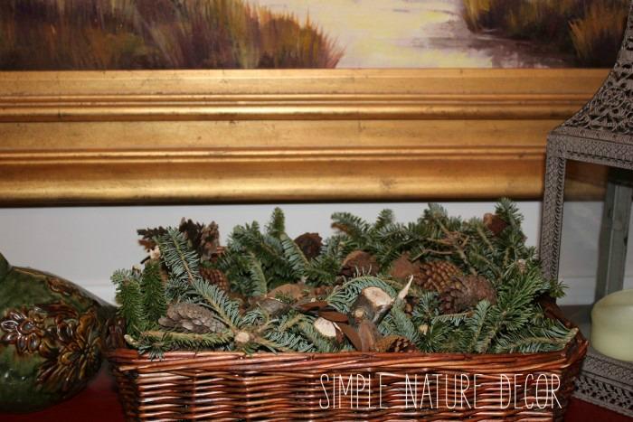 DIY pine scented potpourri