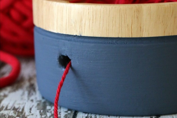 DIY yarn bowl tutorial