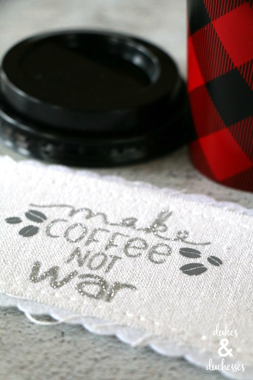 coffee cuff gift idea