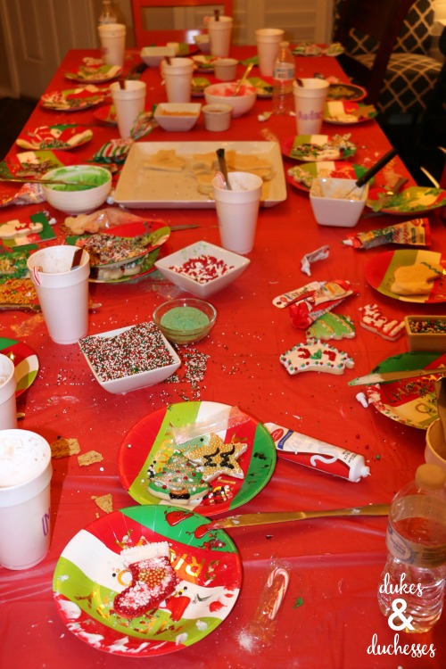cookie decorating party ideas