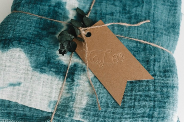 engraved chipboard gift tag