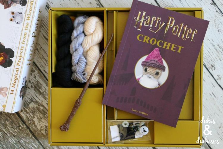 harry potter crochet book for christmas