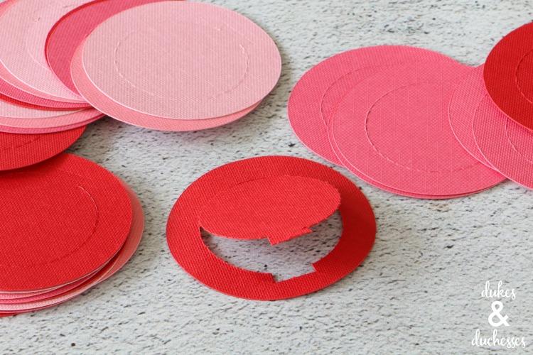 how to use cricut perforation blade to make advent calendar