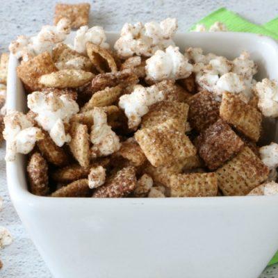 Snickerdoodle Snack Mix
