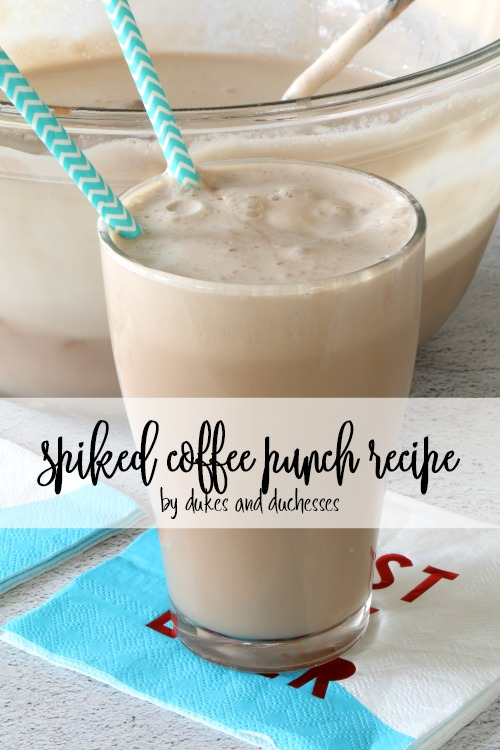 spiked coffee punch recipe