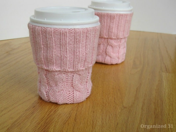 sweater coffee sleeve