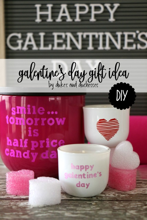 DIY galentines day gift idea