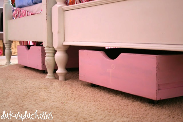 drawers as under the bed storage