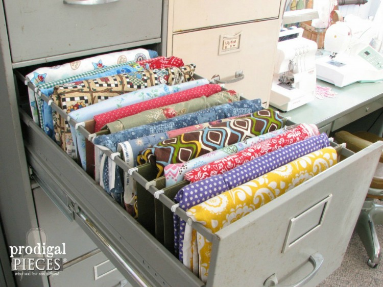 filing cabinet fabric storage