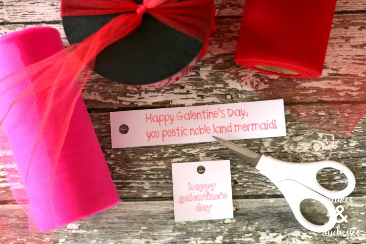 galentines day gift tags