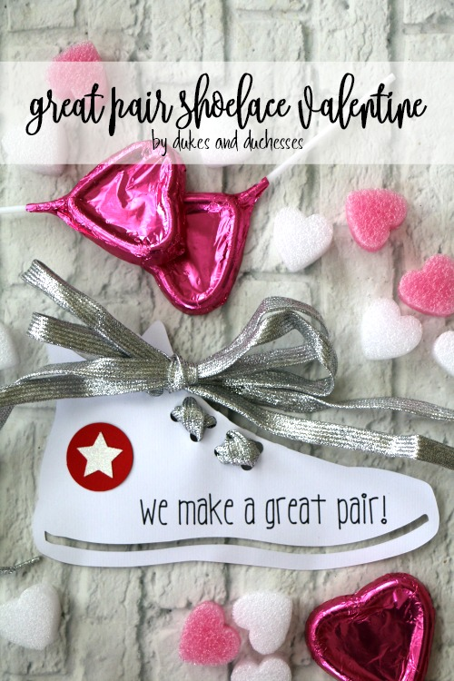 great pair shoelace valentine