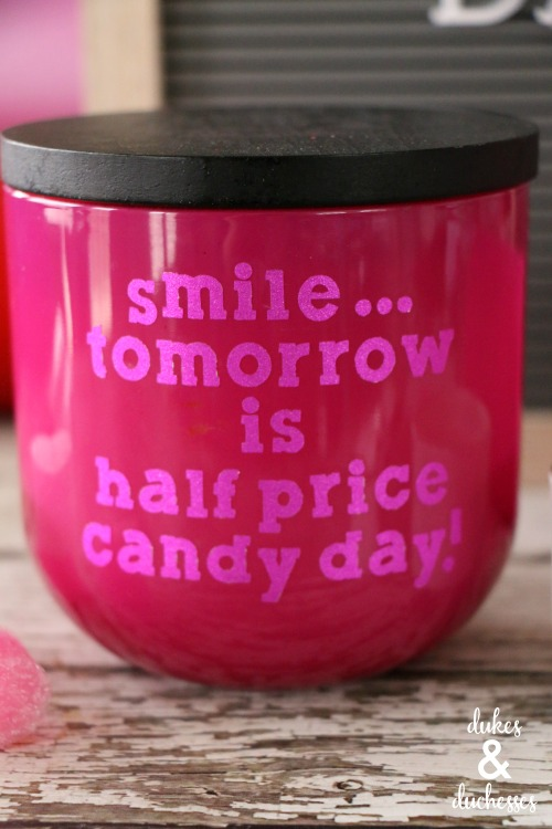 half price candy day gift idea for galentines day