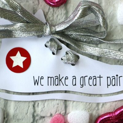 handmade great pair shoelace valentine idea for kids
