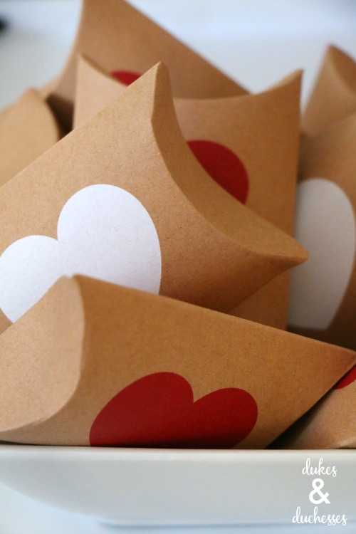 valentines day gift box party favors